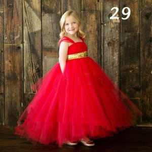 3 part net inner satin baby flower dress-29