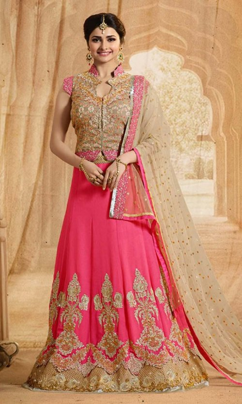 Unstiched Three Piece LACA 29D soft georgette salwar kameez