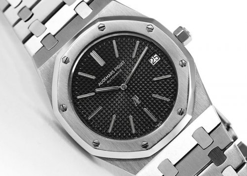 Audemars Piguet 67650 Royal Oak Silver Black Watch