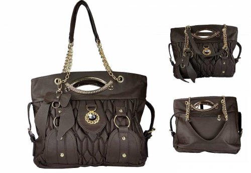 Exclusive pu leather ladies bag