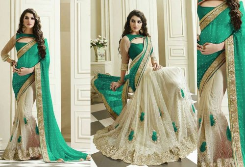 Weight Less Georgette saree SS-581