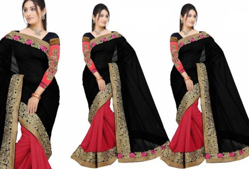 Weight Less Georgette saree SS-97