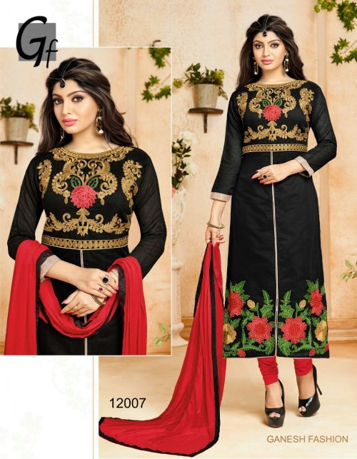 Embroidered salwar kameez S-385