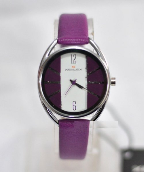 xenlex ladies watch purple