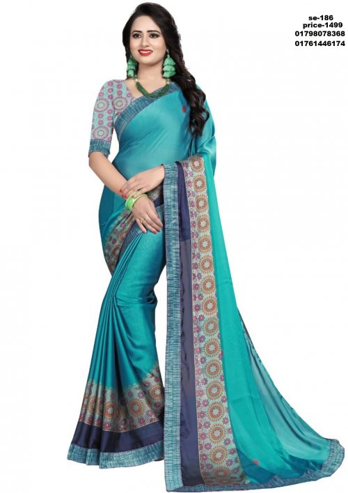 Indian Soft Silk Saree se-186