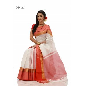 tat cotton saree ds-122