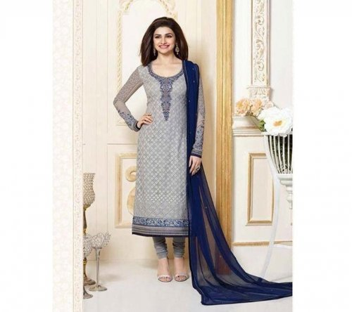 Party Dress KPR Cotton with Embroidery 3308 Replica
