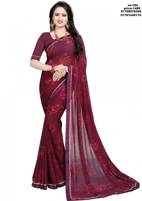 Indian Soft Silk Saree se-184
