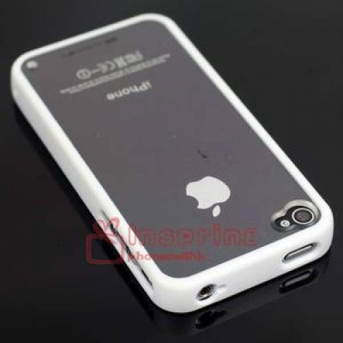 Silicone Hard Back Cover iPhone 4/4GS