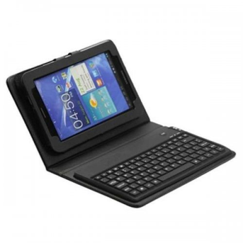 Bluetooth Keyboard & Leather case Galaxy Tab 2