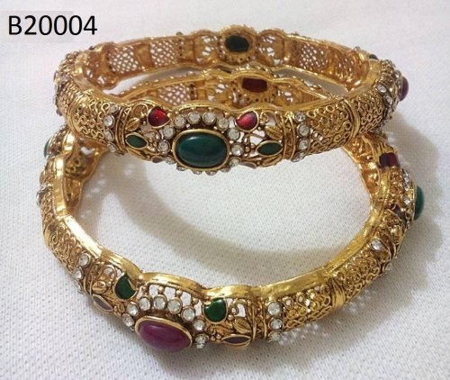 Gold Plated jewelry ornaments Bangles B-20004