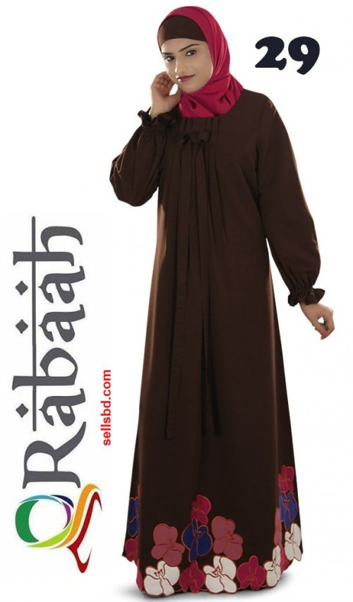 Fashionable muslim dress islamic clothing Rabaah Abaya Burka borka 29