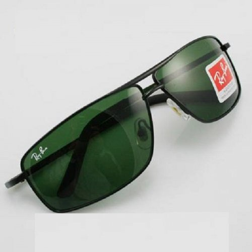 Ray Ban Gents Black 9102 Sunglass Replica SW4064