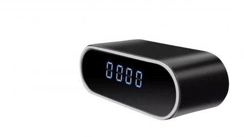 Wifi Table Clock Camera - Round