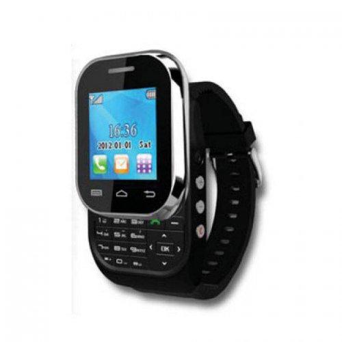 Watch Mobile Slider Dual SIM with Bluetooth Headset