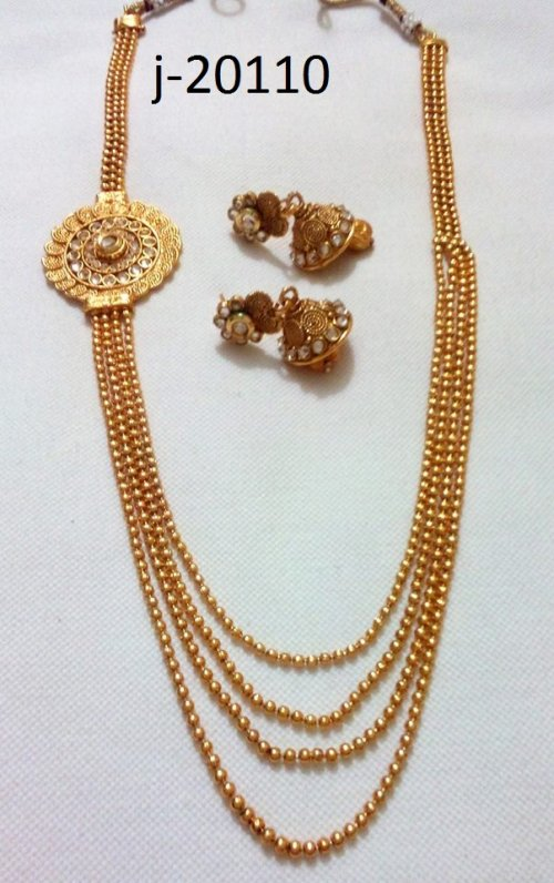 Gold Plated jewelry ornaments Jewellery Set j-20110