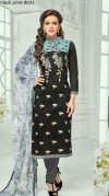Unstiched block printed cotton replica salwar kameez seblock-8031