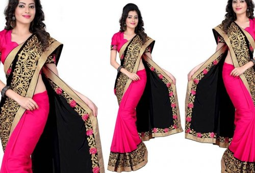 Weight Less Georgette saree SS-237