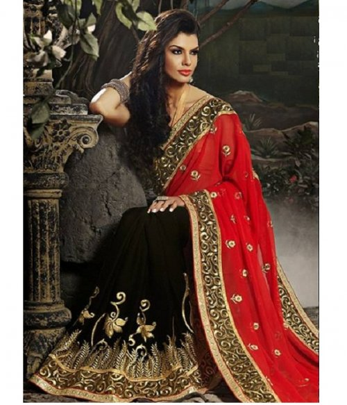 Weight Less Georgette saree SS-235