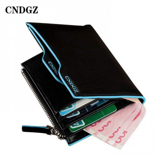 NewArrival Casual Cowhide Mens Wallet 12