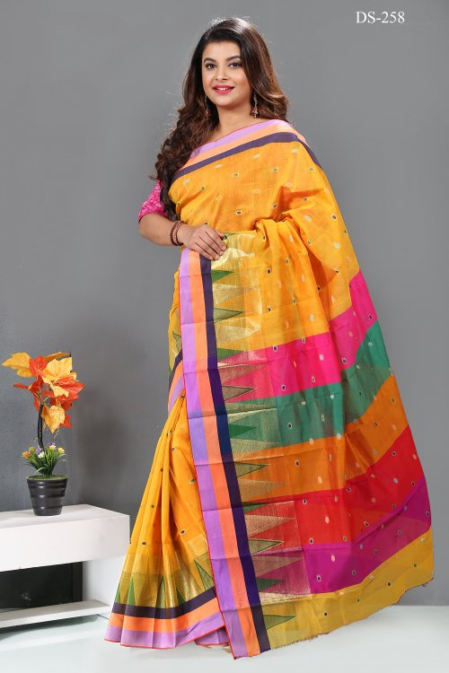 silk saree for woman bois-258