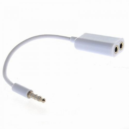 Couple Audio Cable Dual Port