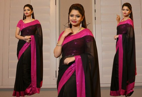 Weight Less Georgette saree SS-226
