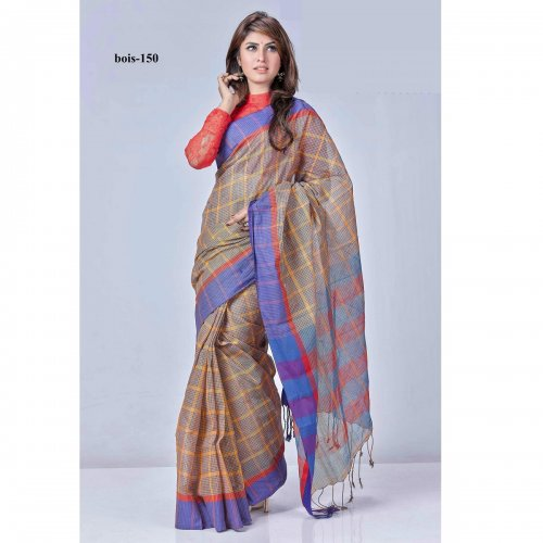 tat cotton saree bois-150