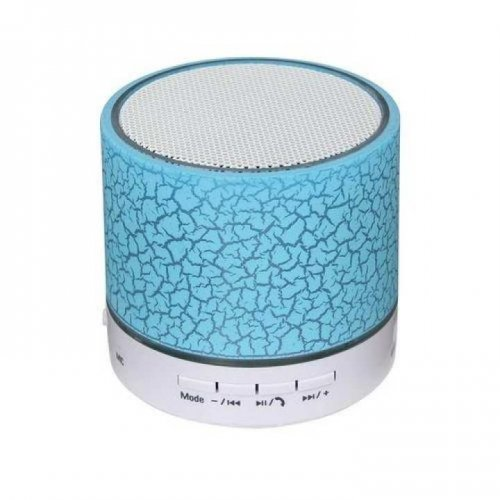 A9 Mini Wireless Bluetooth Speaker - White & Blue