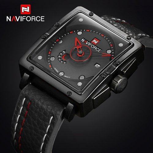 NAVIFORCE NF9065M True Combination of Red and Black Watch