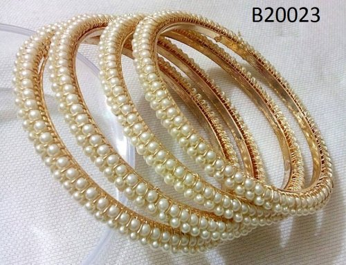 Gold Plated jewelry ornaments Bangles B-20023 (4 pcs)