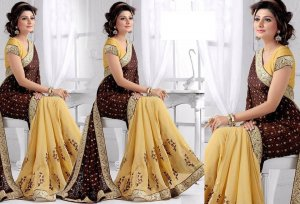 Weight Less Georgette saree SS-366