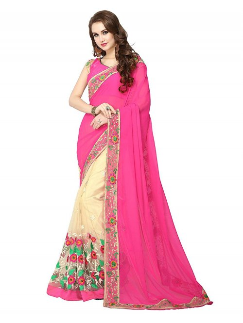 Weight Less Georgette saree Hp-70