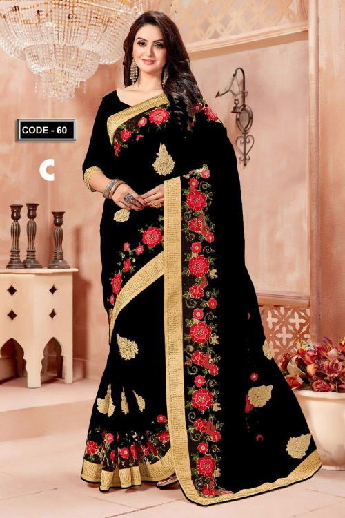 Weight Less Georgette saree Hp-60_C