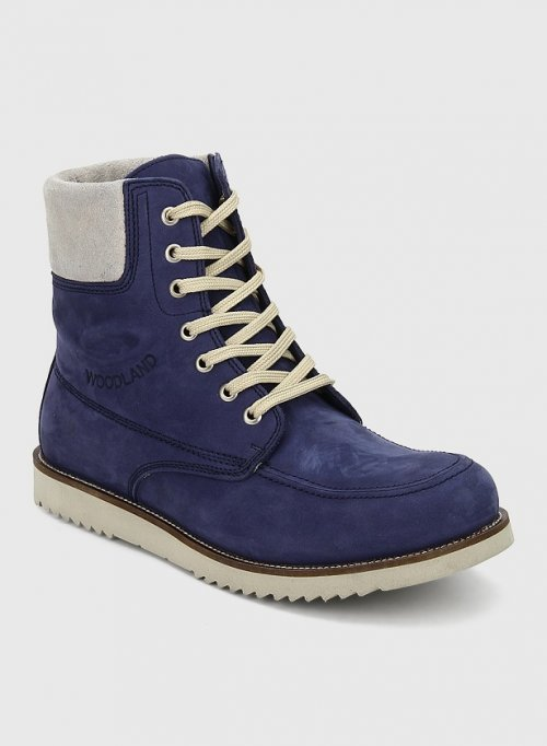 ORIGINAL Woodland Navy Blue Boots