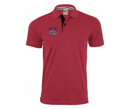 police mens polo shirt 4