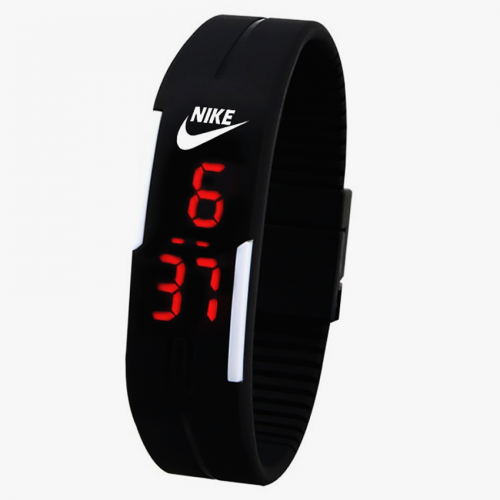 LED Silicone Bracelet Watch