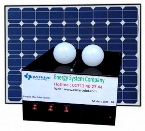 EMS-20 20-Watt Mini Solar Power Home System