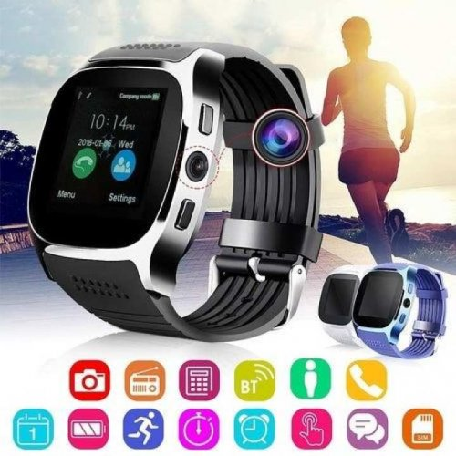 T8 Smart Watch Sim Supported Bluetooth Camera