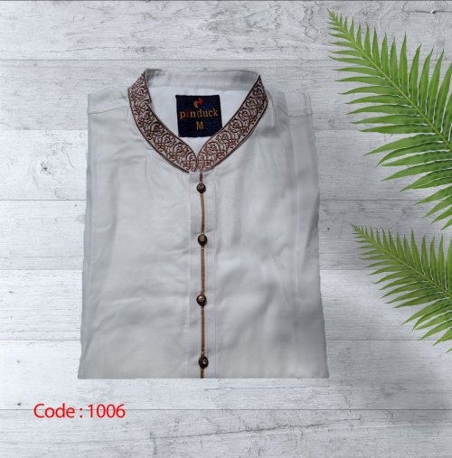 Cheli Febric Cotton punjabi for man