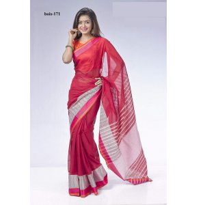 Tat cotton saree bois-171