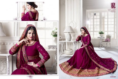 Ayesha Takia un-stitched georgette embroidery anarkali suit