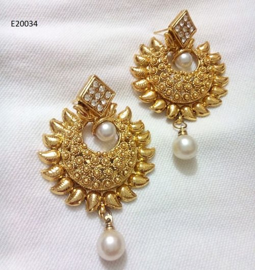 Gold Plated jewelry ornaments Earrings E-20034