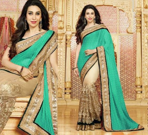 Weight Less Georgette saree SS-588
