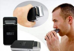 IPHONE SHAPED RECHARGEABLE SHAVER