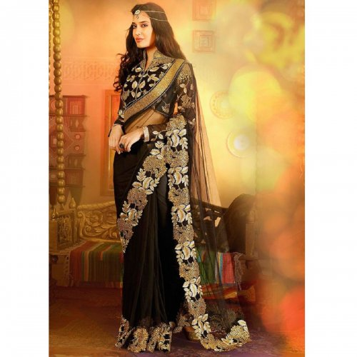 Weight Less Georgette saree SS-650