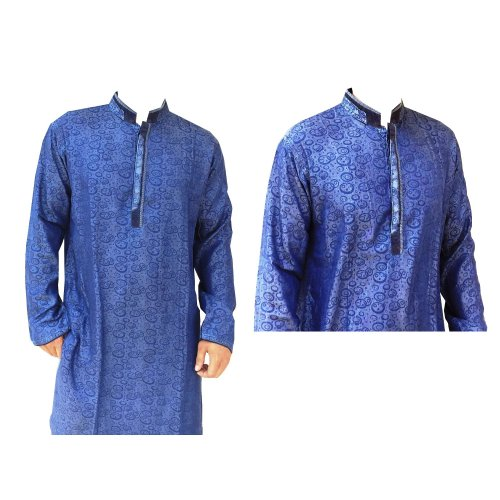 Cotton Casual eid Long Panjabi ml-1