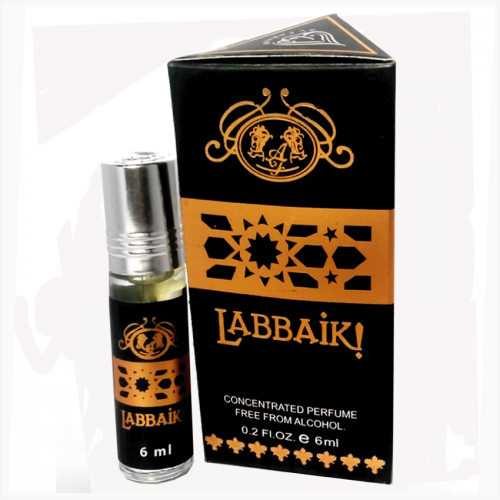 Labbaik Alcohol free Attar 6ml by Farhan Perfumes