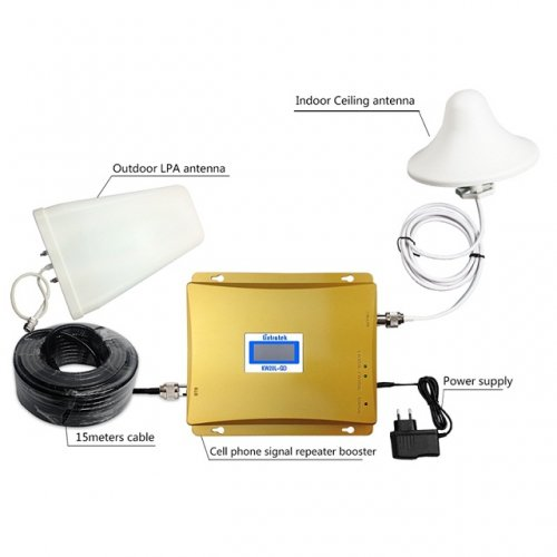 3G / 4G Mobile Network Repeater - Golden