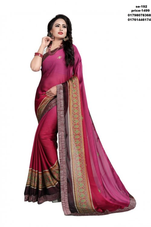 Indian Soft Silk Saree se-192